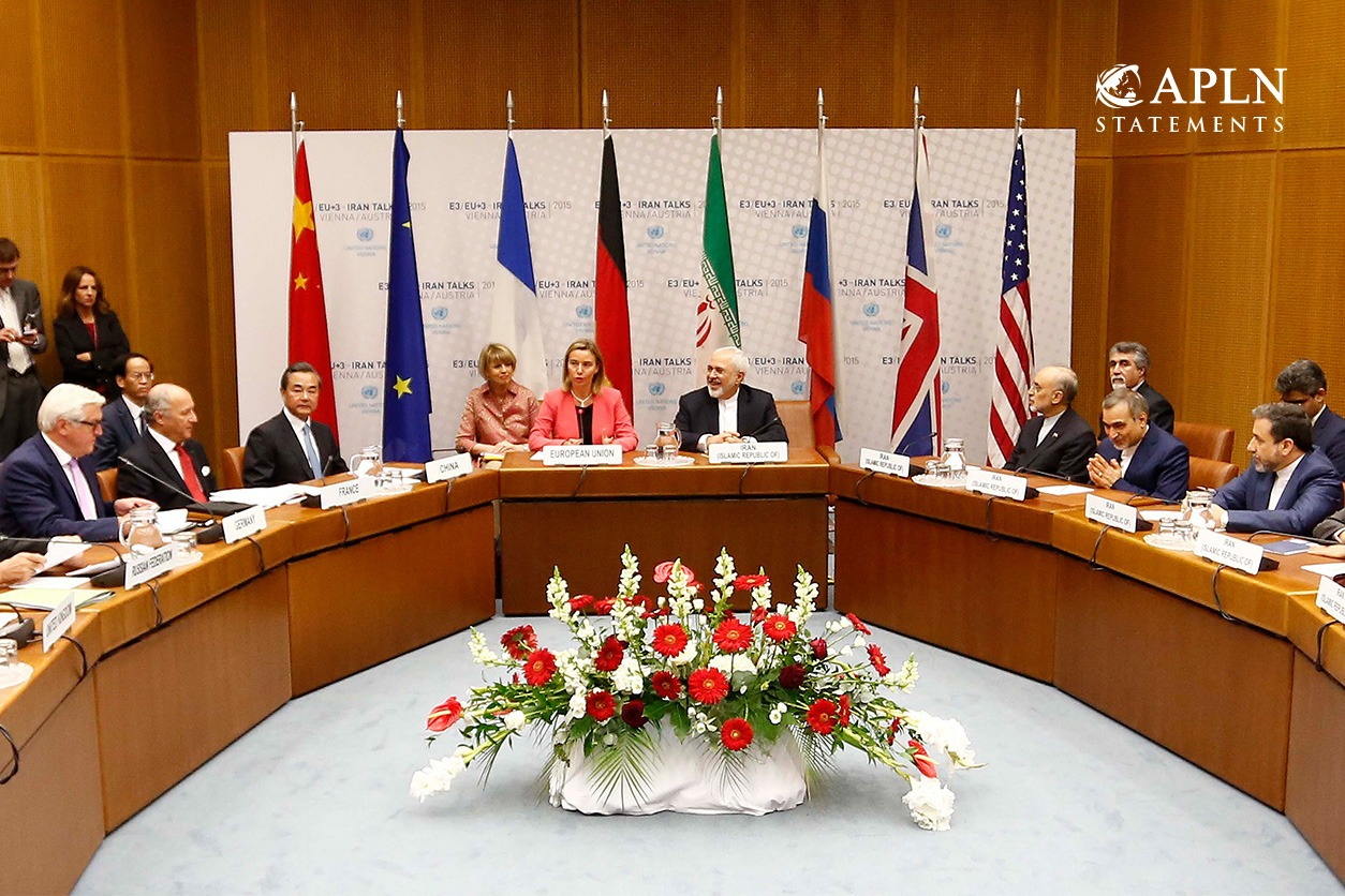 APLN Endorses ELN Statement to Protect the Iran Nuclear Deal