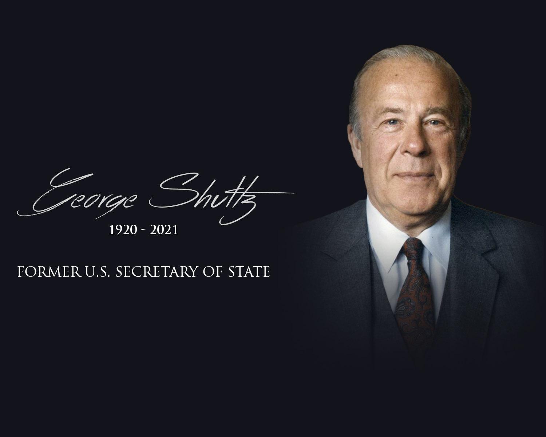 Vale, George Shultz