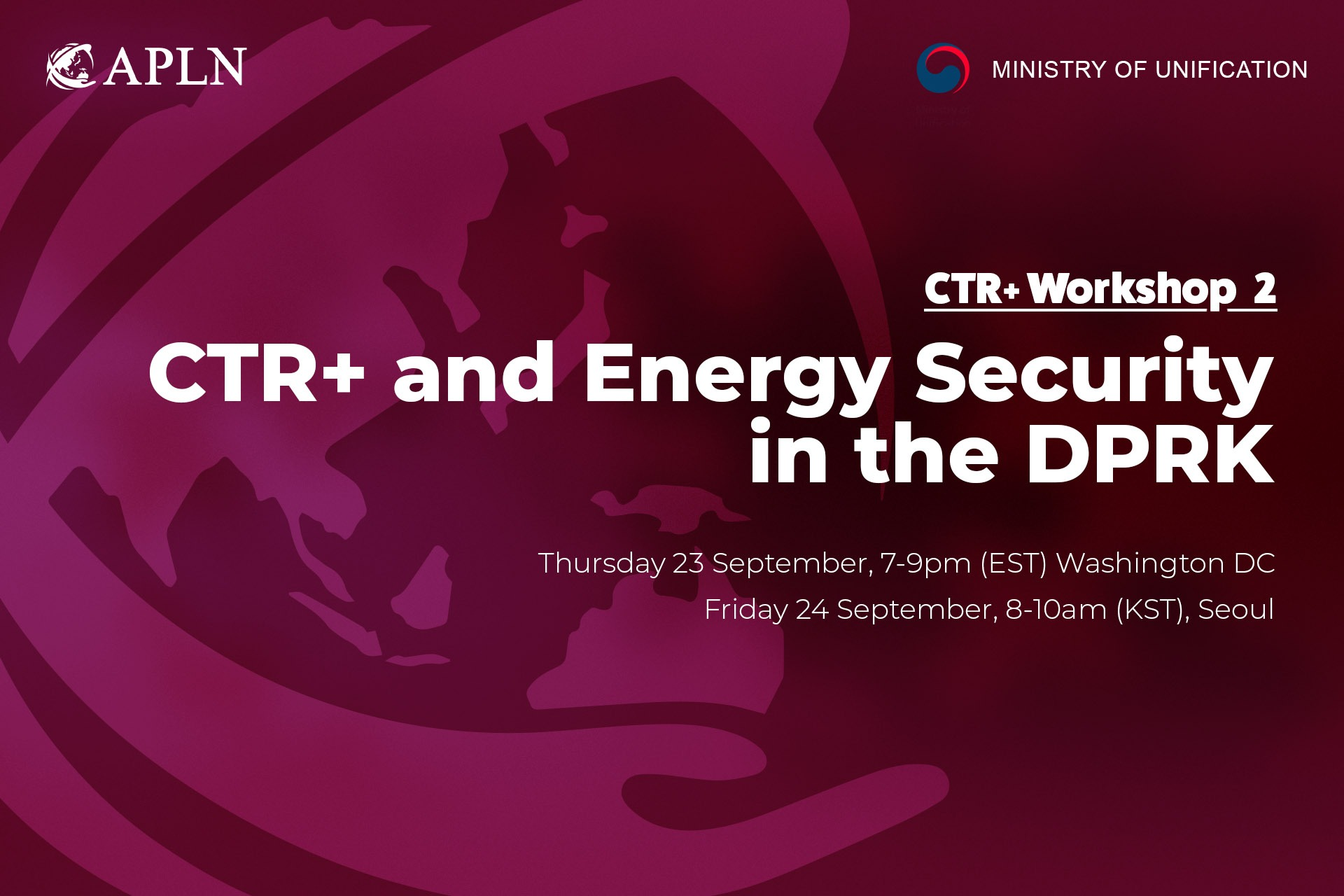 [Webinar 2] CTR+ and Energy Security in the DPRK