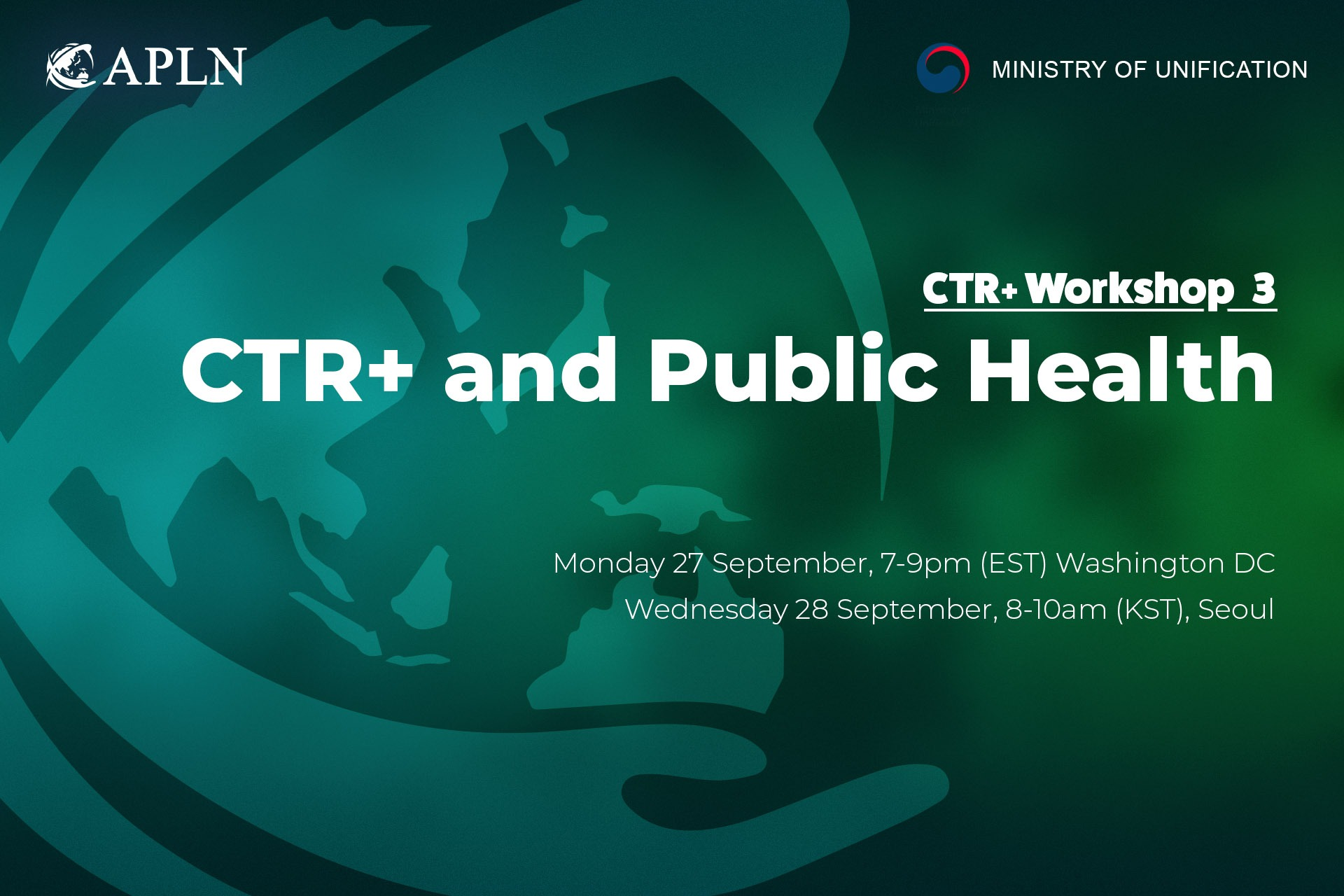 [Webinar 3] CTR+ and Public Health in the DPRK